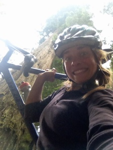 Maybe you'll include a selfie to show how much fun you and your bike are having.